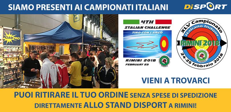 SIAMO PRESENTI AI CAMPIONATI ITALIANI INDOOR RIMINI 2018