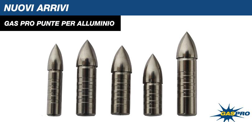 Gas Pro Punte per alluminio