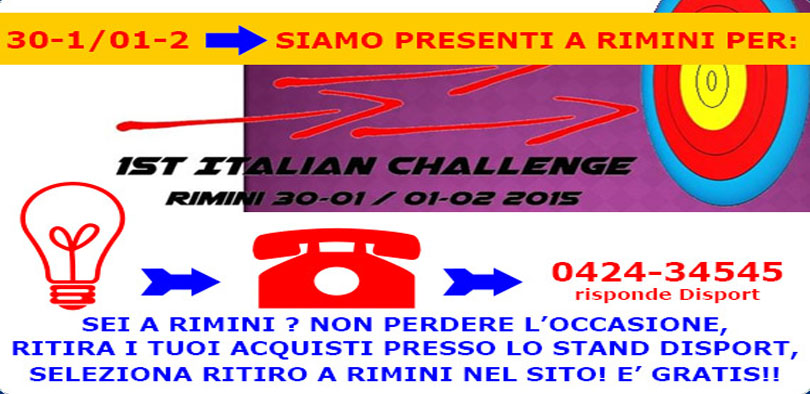 1ST ITALIAN CHALLENGE