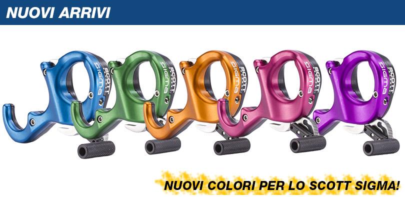 Nuovi colori per lo sgancio Scott Sigma