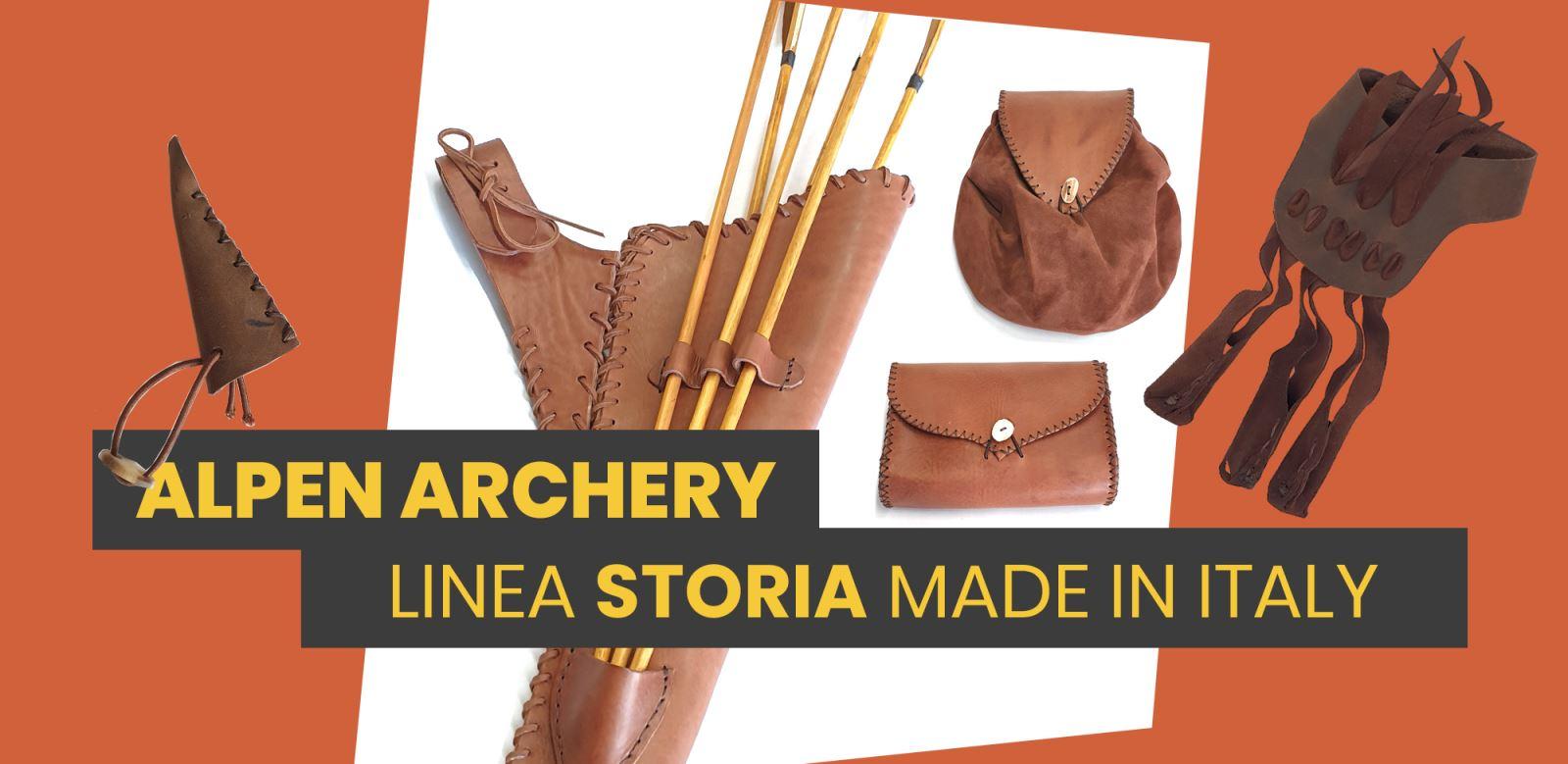 Alpen Archery Faretra Tradizionale ed accessori Storia