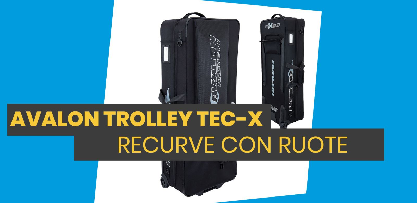 Avalon Trolley Tec X Recurve Semi Rigid