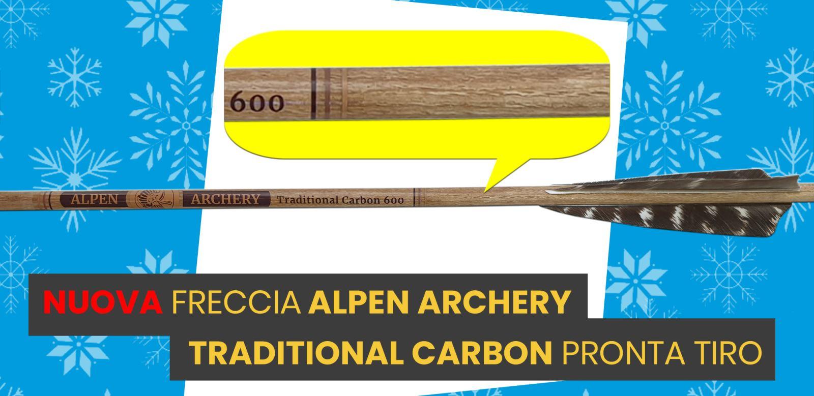 Nuova Freccia Disport Carbon Traditional