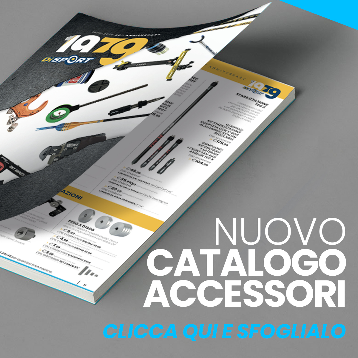 Catalogo Accessori Disport Tiro con l'Arco 2020