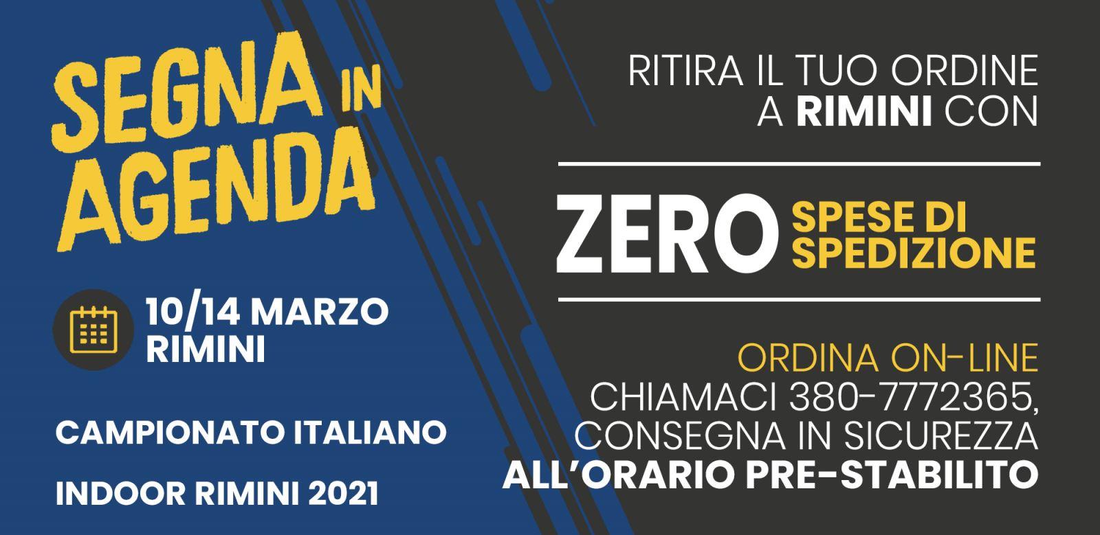 Consegna in Sicurezza Campionati Italiani a Rimini