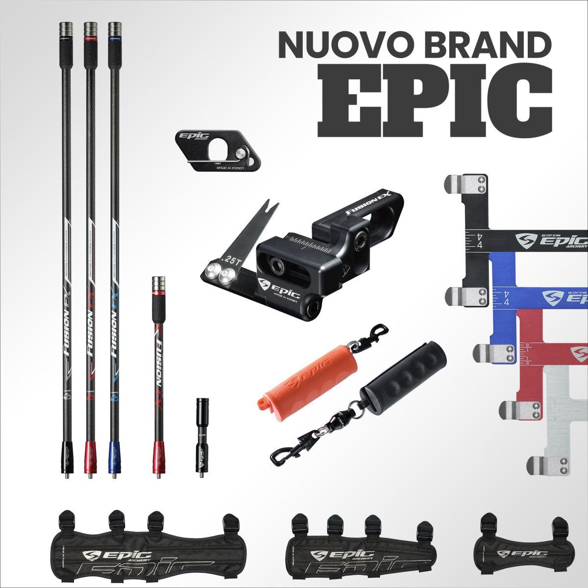 Scopri tutte le novità del nuovo marchio EPIC Archery