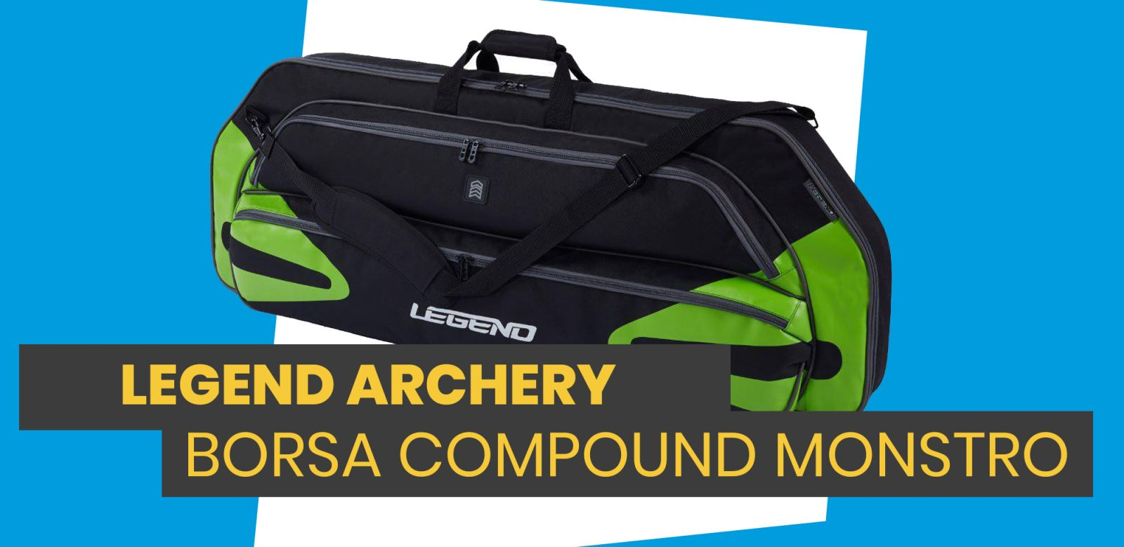 Nuova Legend Archery Borsa Monstro