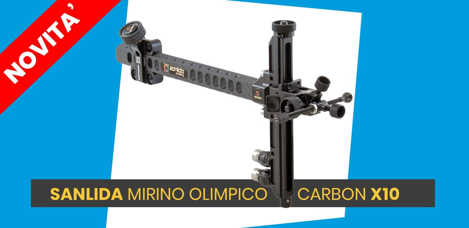 Nuovo Mirino Sanlida X10