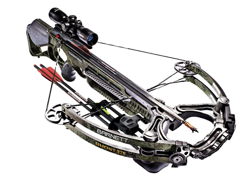 BARNETT CROSSBOW GHOST 375 CAMO PACKAGE