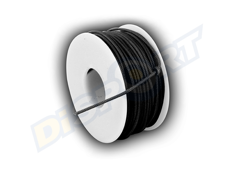 BCY D-LOOP ROPE BLACK 1 MT 0.060'' POLYESTER