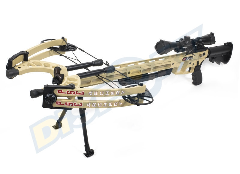 PSE CROSSBOW KIT TAC ELITE 150# CON ACCESSORI DESERT LIMITED EDITION
