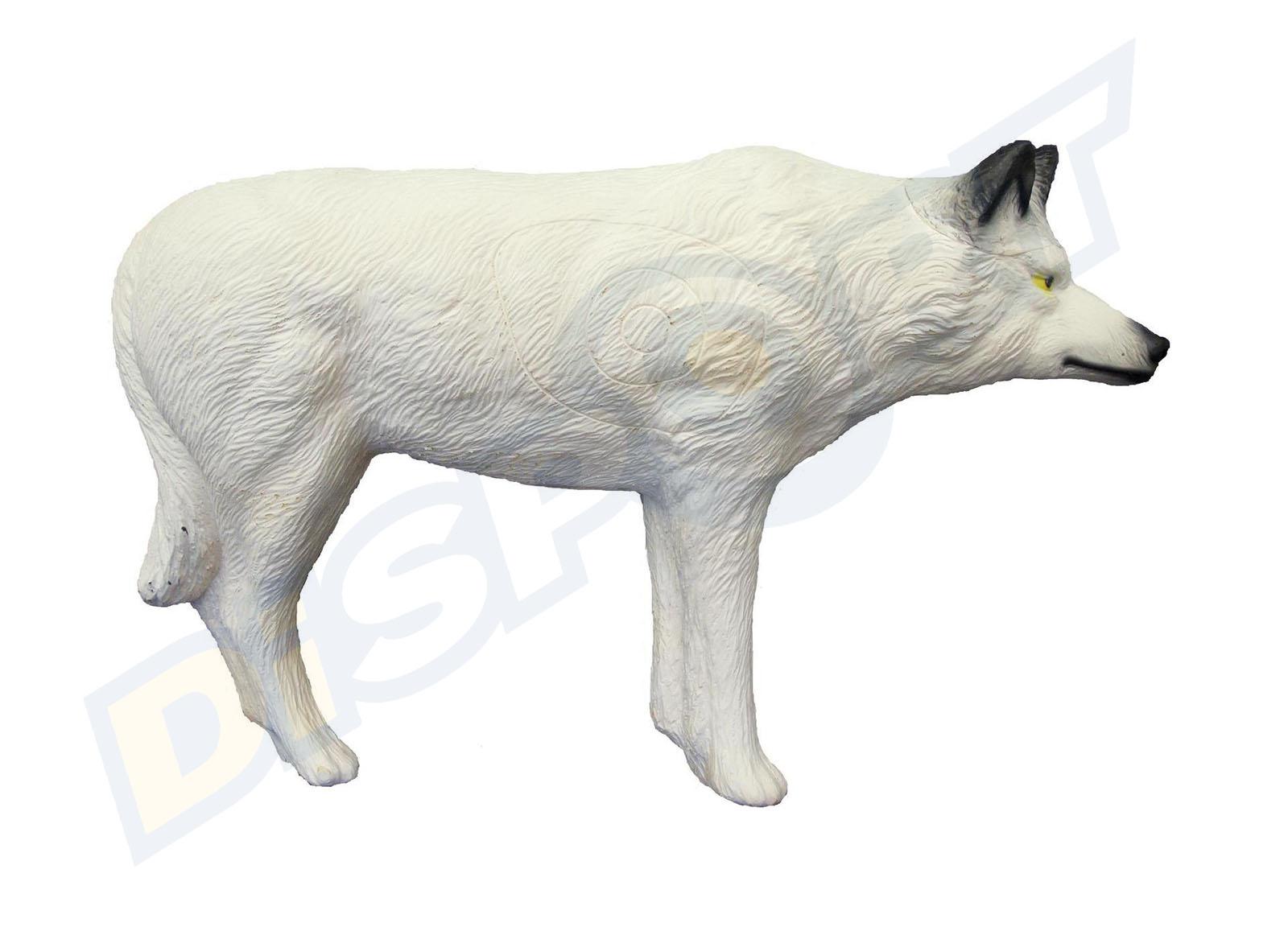 SRT TARGET 3D LUPO BIANCO 08475555
