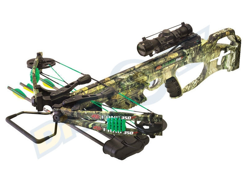 PSE BALESTRA FANG 350 XT MOSSY OAK COUNTRY 2017 CROSSBOW PACKAGE
