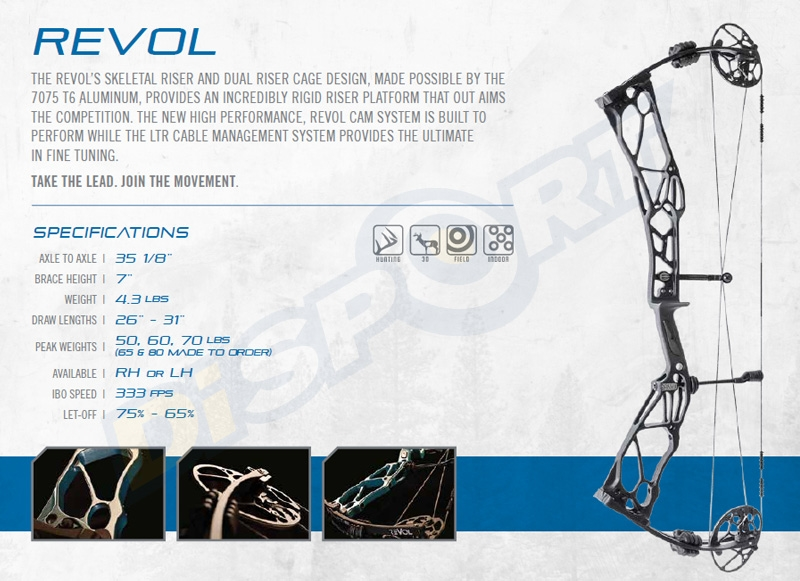ELITE ARCHERY ARCO COMPOUND REVOL