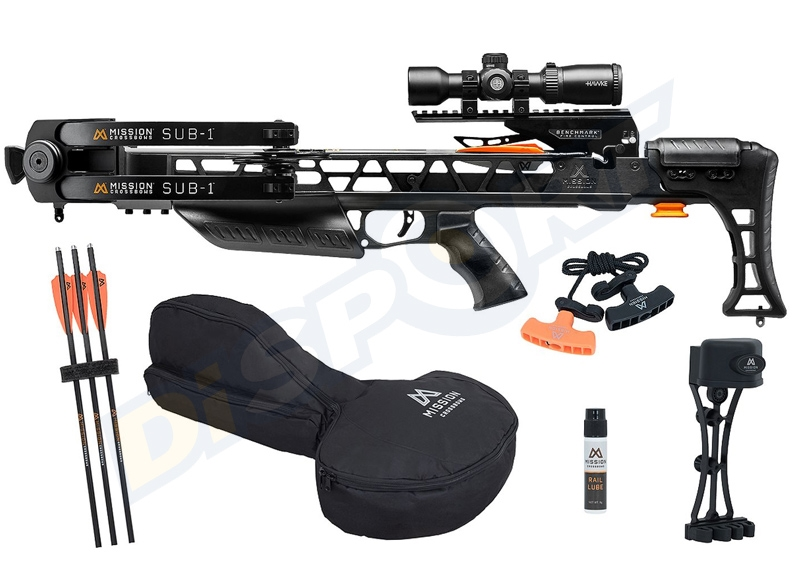 MISSION CROSSBOW SUB-1 CON PACCHETTO PRO BLACK