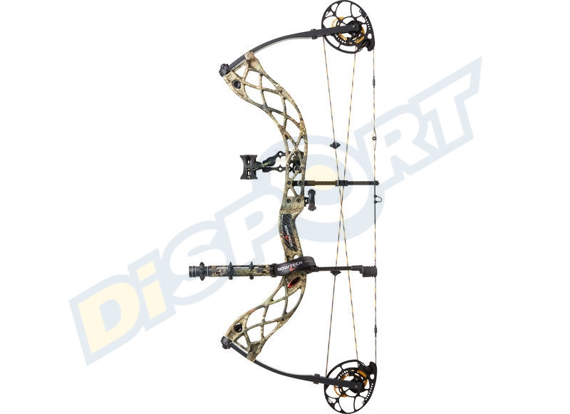 BOWTECH ARCO COMPOUND PACKAGE RAK CARBON ICON RH 50# 26''-30''