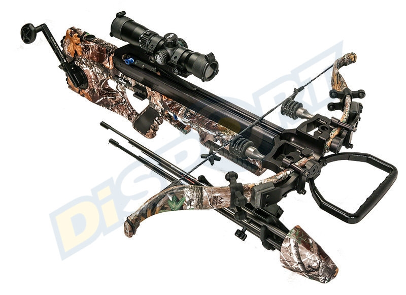 EXCALIBUR BALESTRA ASSASSIN 360 PACKAGE REALTREE EDGE TACT ZONE LSP 285LBS