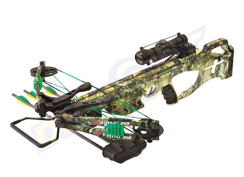 PSE BALESTRA FANG XT 2018 CROSSBOW PACKAGE CON OTTICA, FRECCE, CARICHINO ED ACCESSORI