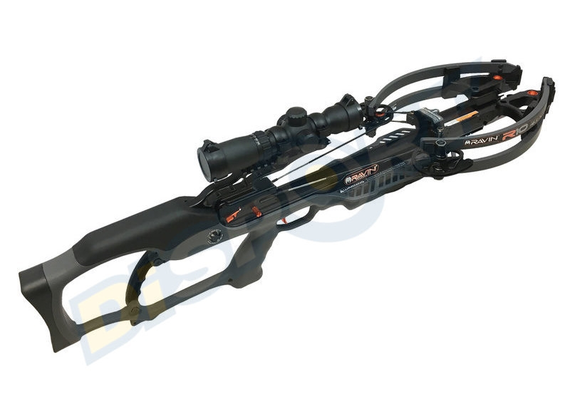 RAVIN CROSSBOWS BALESTRA R10 GUN METAL GREY R011 KIT COMPLETO