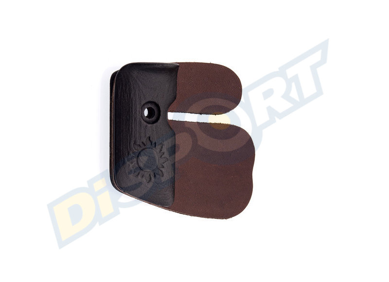 FAIRWEATHER TAB PLATES SET INCLUDE LEATHER