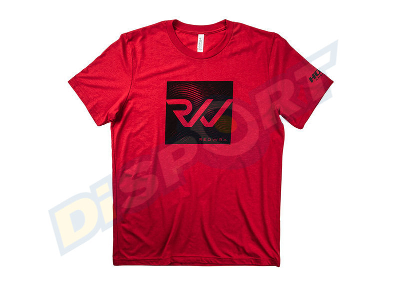 HOYT T-SHIRT UOMO REDWRX RED S/S
