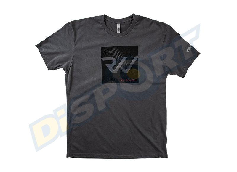 HOYT T-SHIRT UOMO REDWRX CHARCOAL