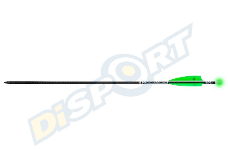 TENPOINT DARDI IN CARBONIO LUMINOSI CENTERPUNCH PREMIUM EVO-X PACKAGE 3PCS