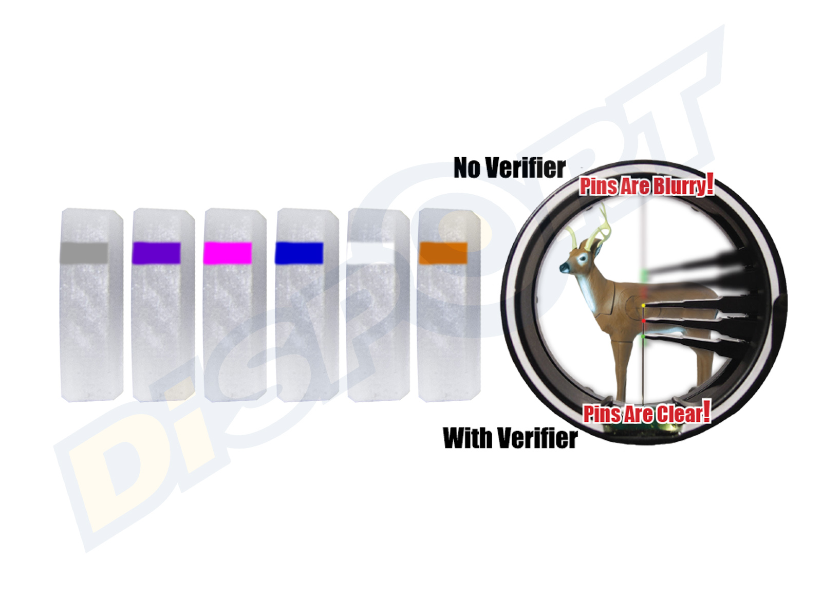 SPECIALTY ARCHERY PODIUM PEEP VERIFIER