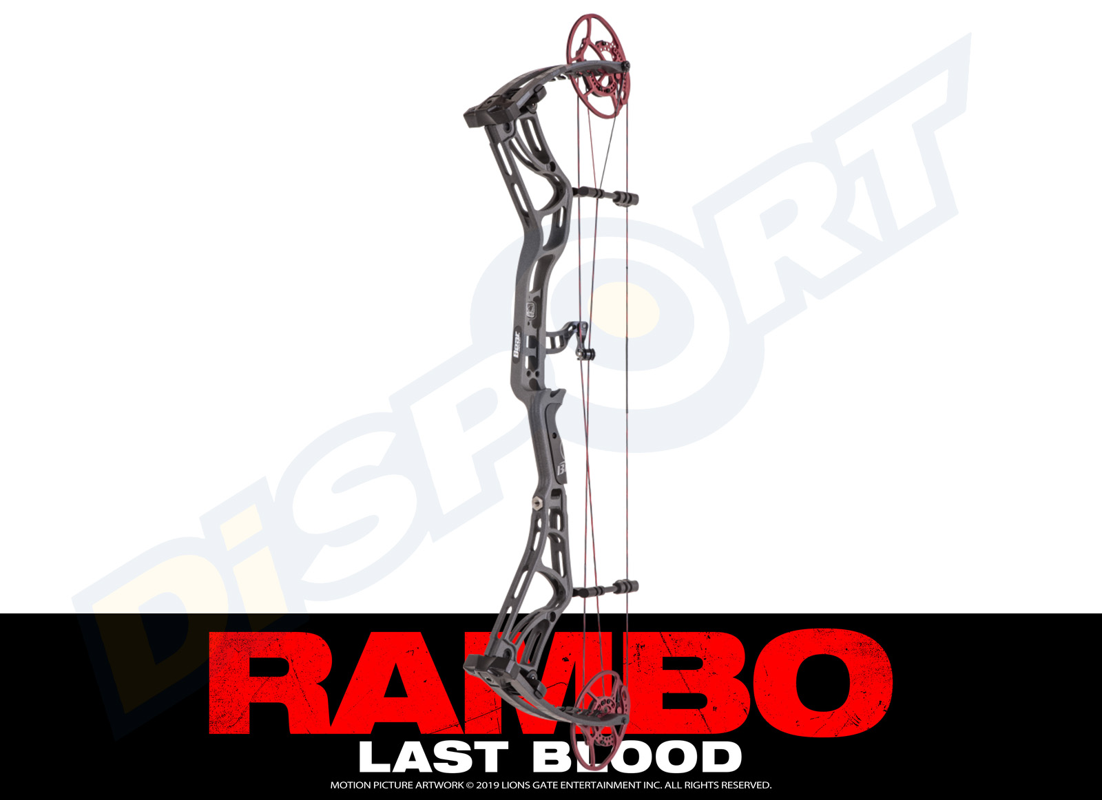 BEAR ARCHERY ARCO COMPOUND RAMBO LAST BLOOD LIMITED EDITION