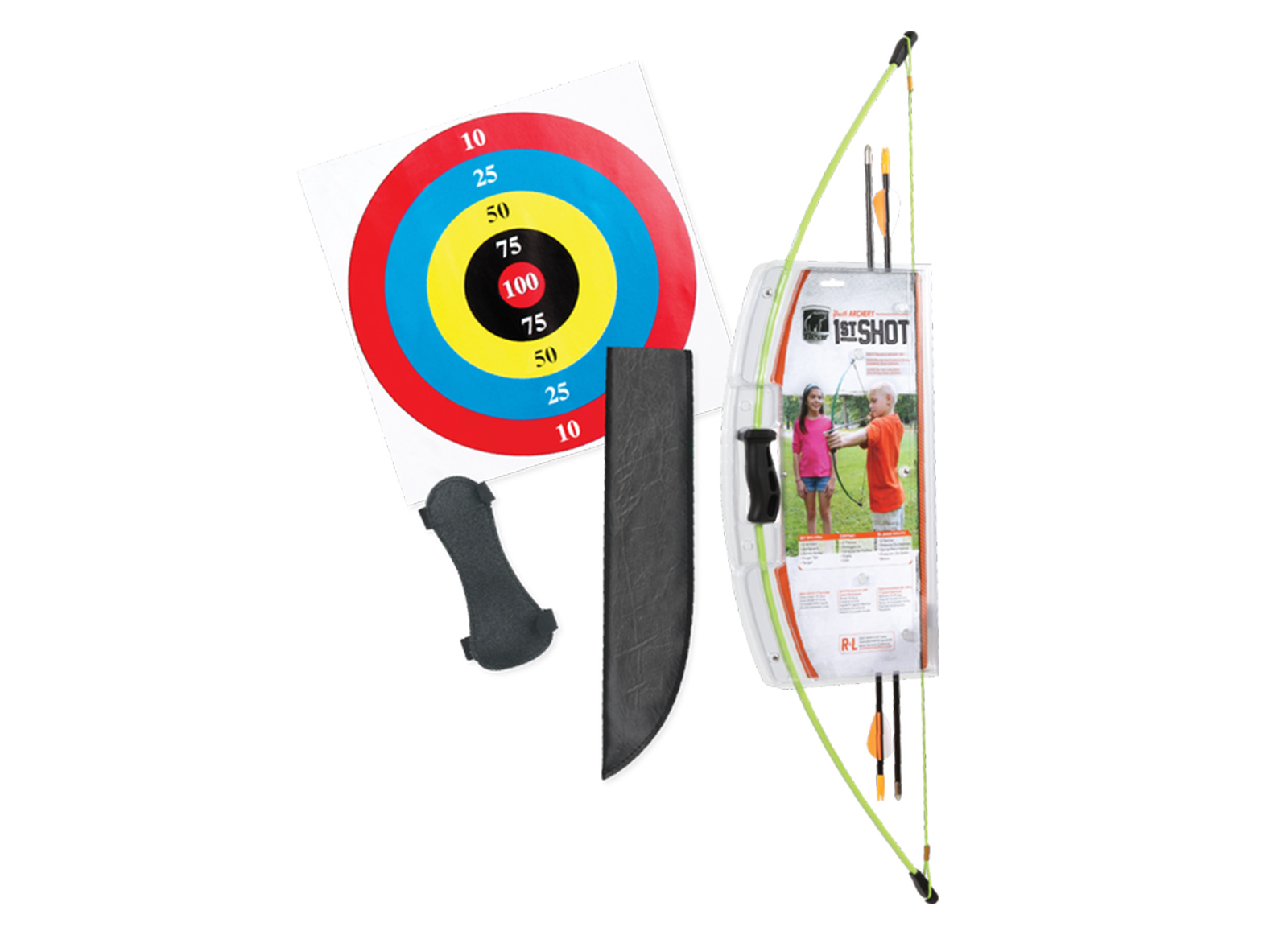 SET ARCO BEAR ARCHERY 1ST SHOT RH/LH