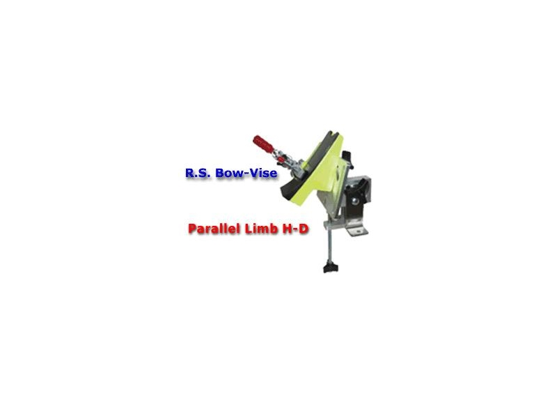R.S. COMPOUND BOW VISE PARALLEL LIMBS CON LIVELLE