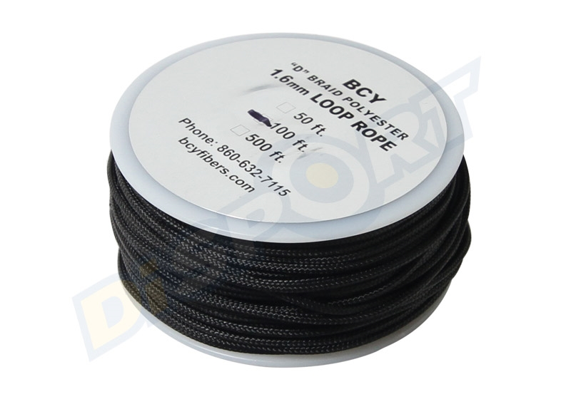 BCY D-LOOP ROPE POLYESTER 1.6 MM