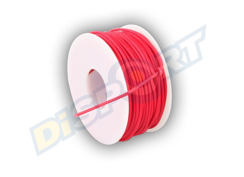 BCY D-LOOP ROPE RED 1 MT 0.060'' POLYESTER