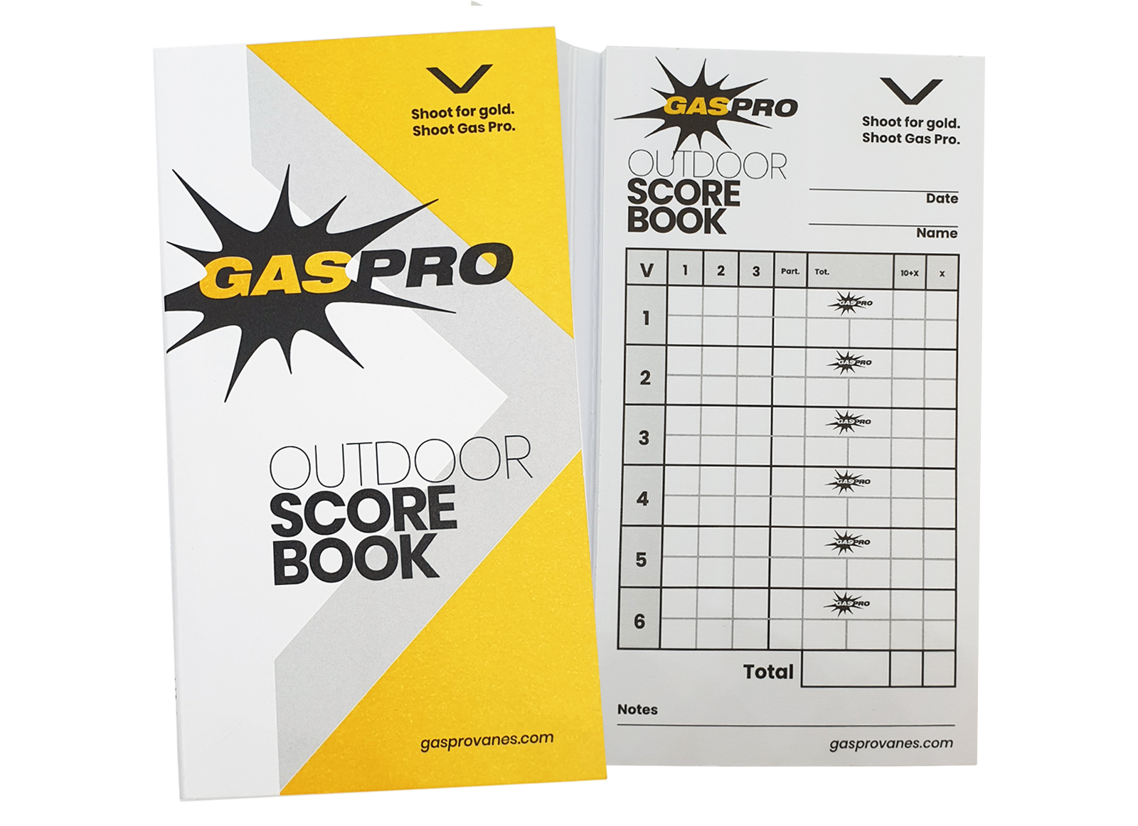 GAS PRO OUTDOOR SCORE BOOK