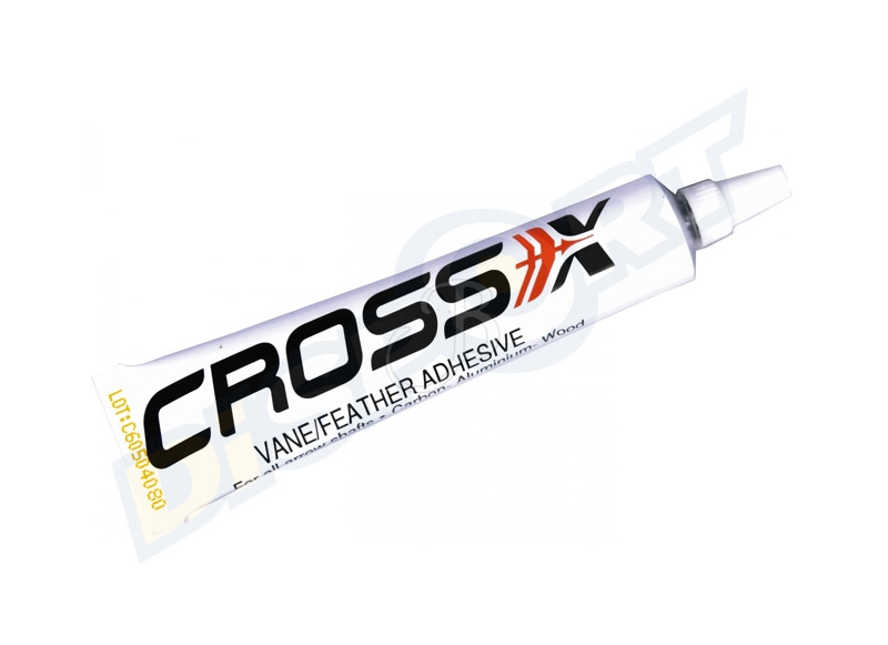 CROSS-X GLUE FLETCHING CEMENT FOR VANES