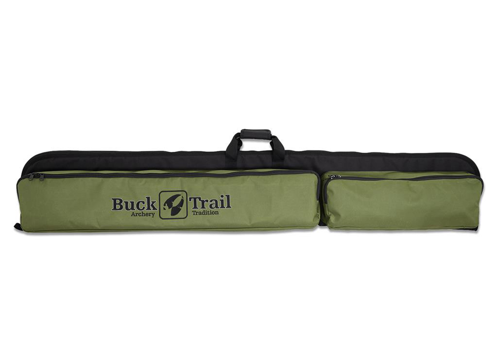 BUCK TRAIL BORSA PER RICURVO 160CM X 27CM BLACK/GREEN