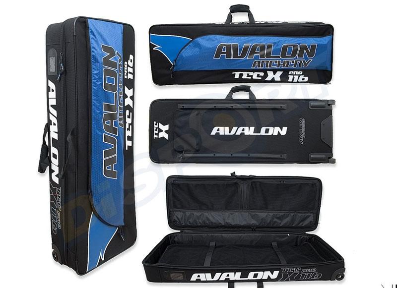 AVALON BORSA TROLLEY TEC X PRO 116 CON RUOTE 116X40X24CM