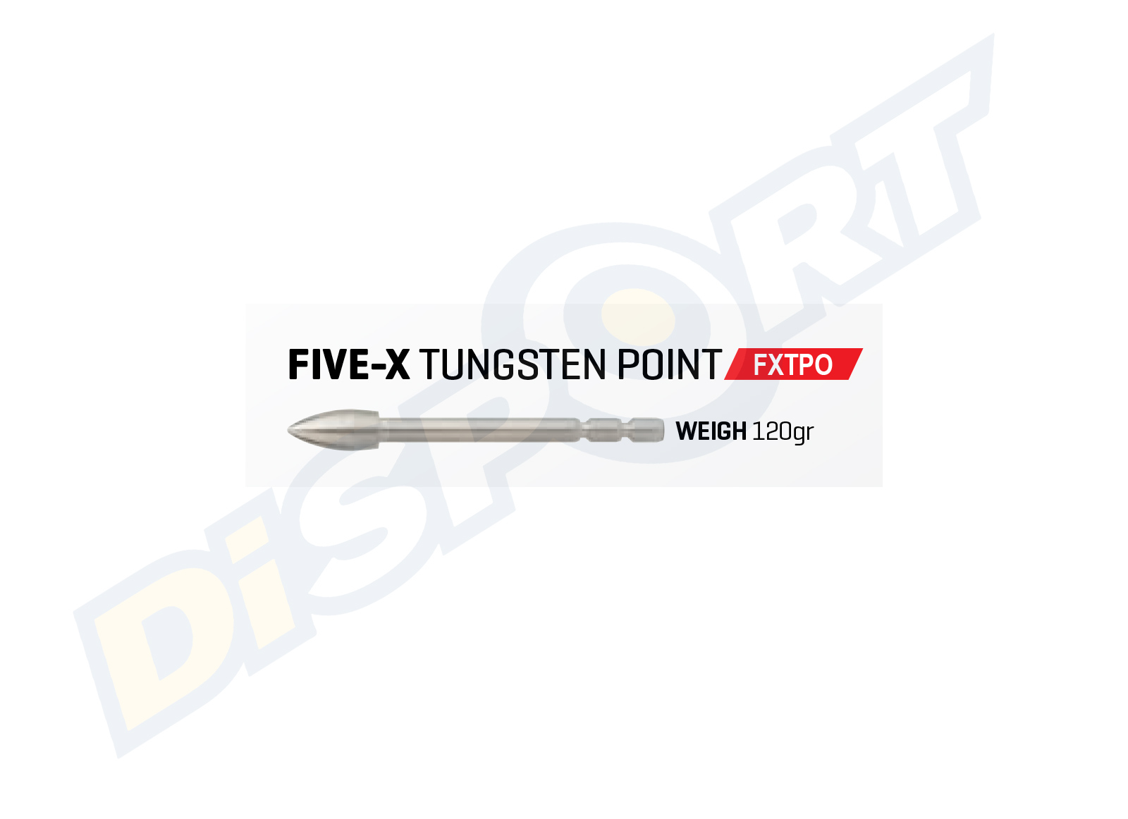 FIVICS PUNTA FIVE-X TUNGSTEN BREAK-OFF SET 12PZ