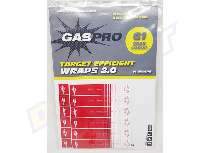 GAS PRO RECURVE WRAPS 14PCS