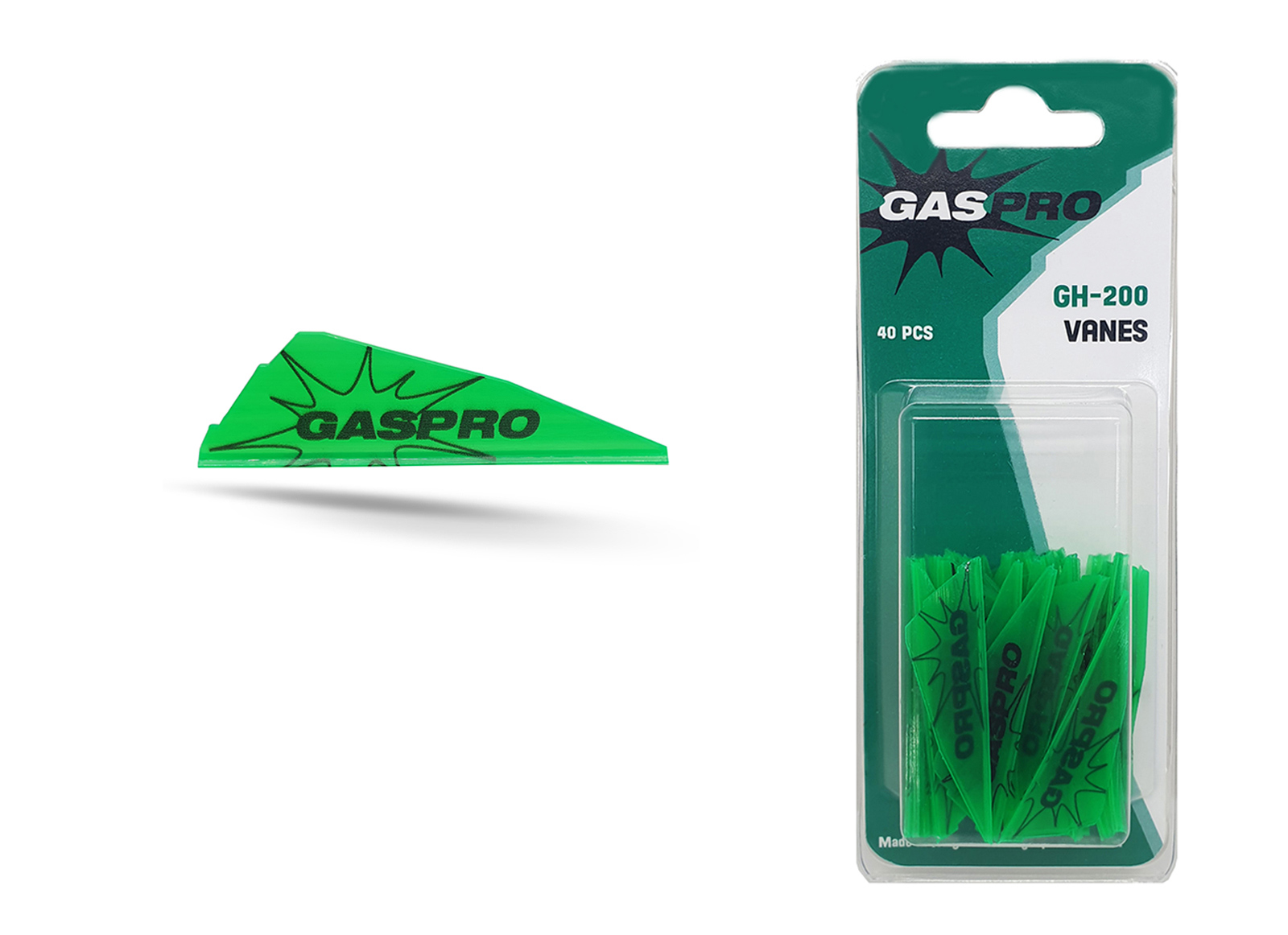 GAS PRO VANES GH-200 40PCS WITHOUT GLUE