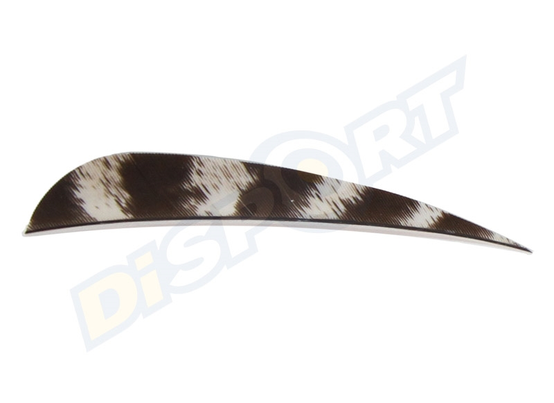 GAS PRO NATURAL TURKEY FEATHERS 4'' CONF. 12