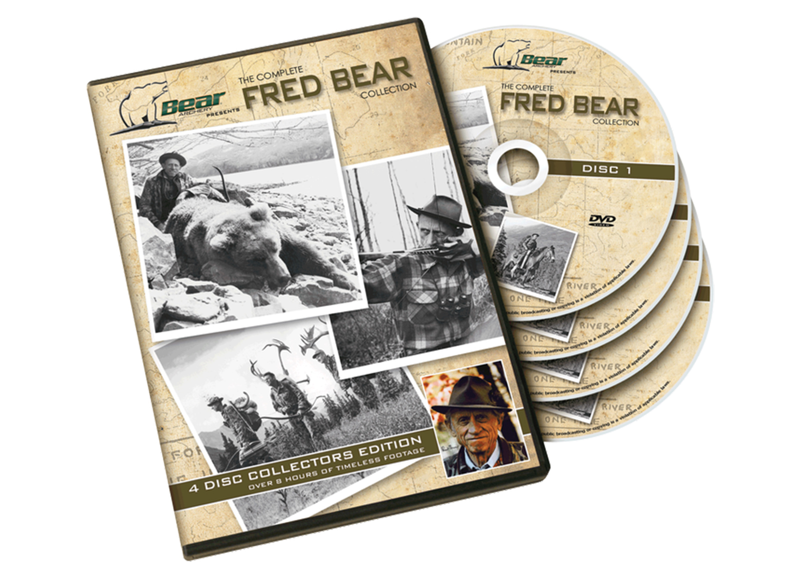 DVD DI FRED BEAR