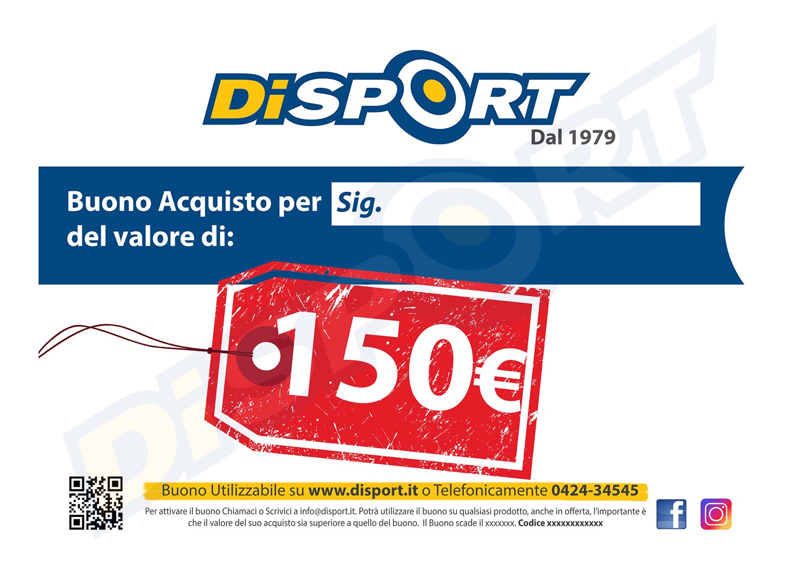 BUONO ACQUISTO 150 EURO