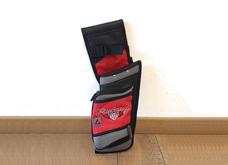 VICTORY FARETRA FIELD HIP QUIVER LH RED