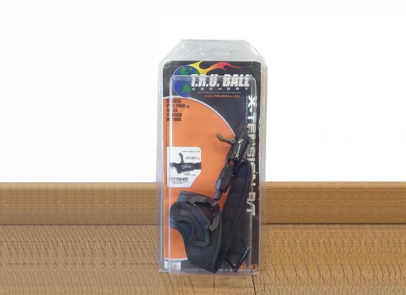 TRU BALL SGANCIO X-TENSION R/TGS TRIGGER GLOBO SWIVEL BUCKLE STRAP BLACK LARGE