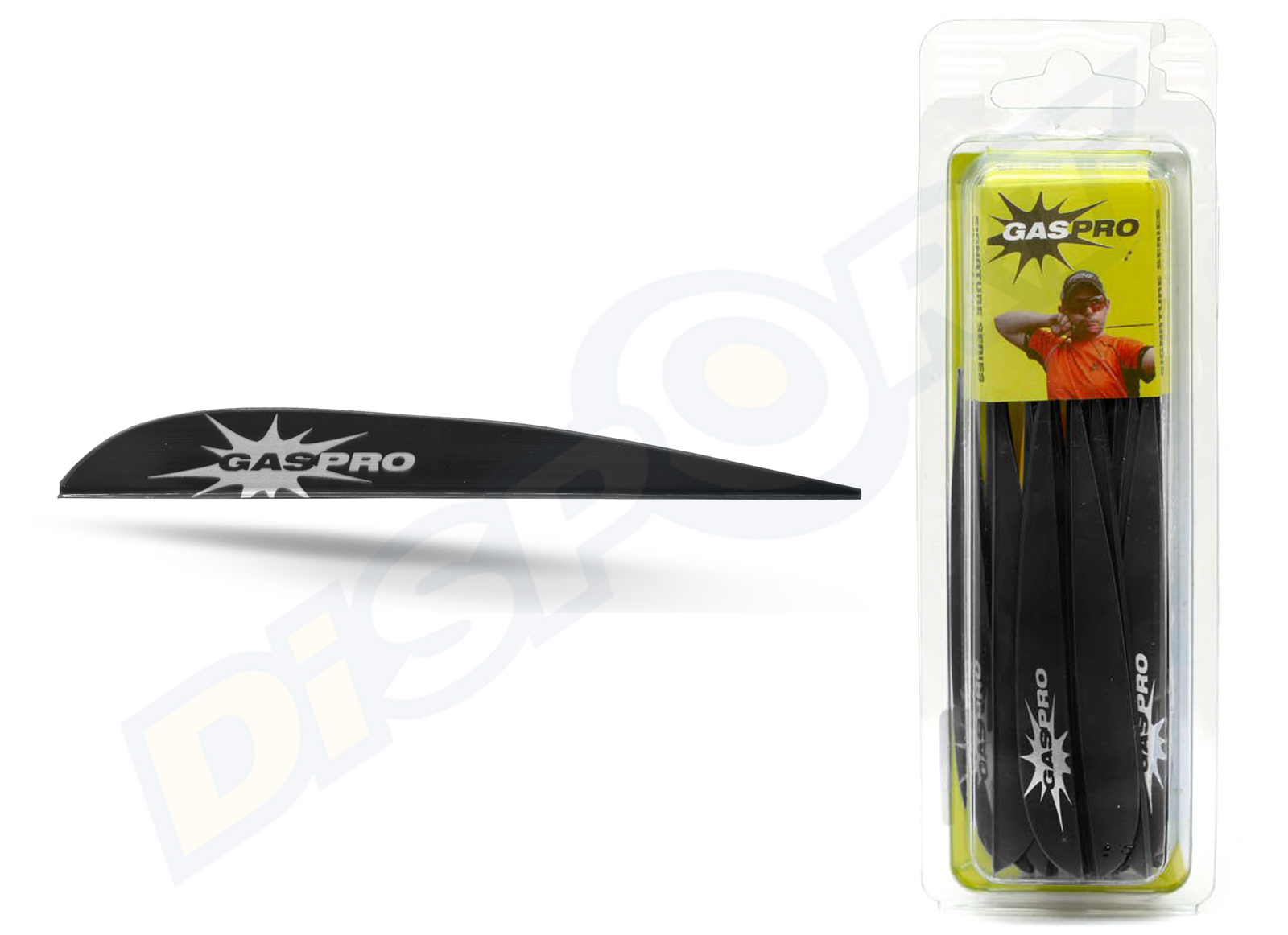 GAS PRO VANES GP-400 PETER ELZINGA SIGNATURE SERIES WITHOUT GLUE
