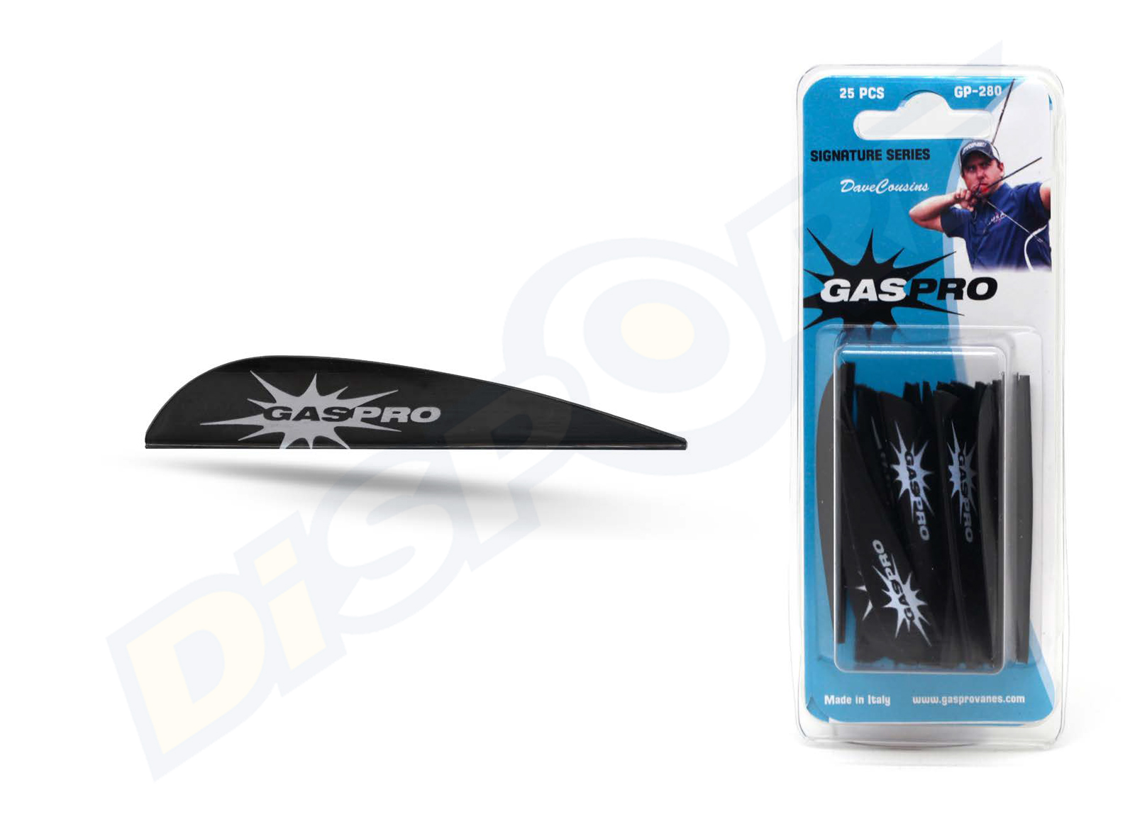 GAS PRO VANES GP-280 DAVE COUSINS SIGNATURE SERIES WITHOUT GLUE