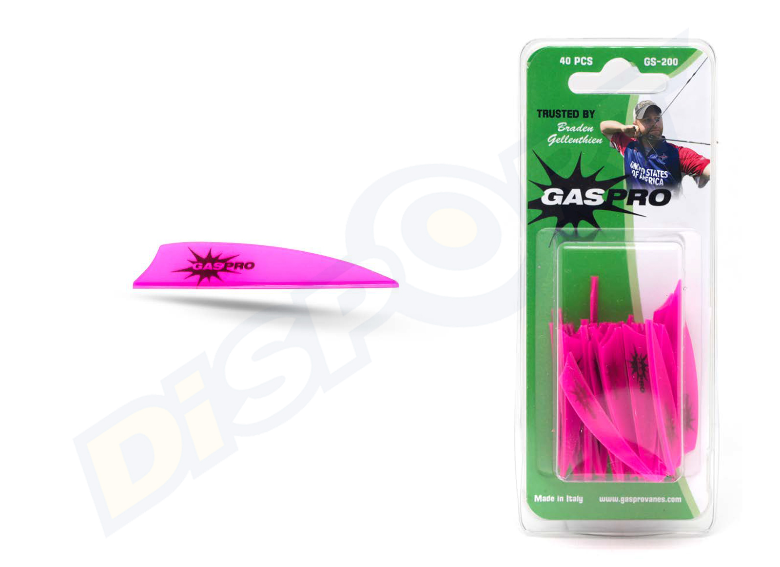 GAS PRO VANES GS-200 WITHOUT GLUE