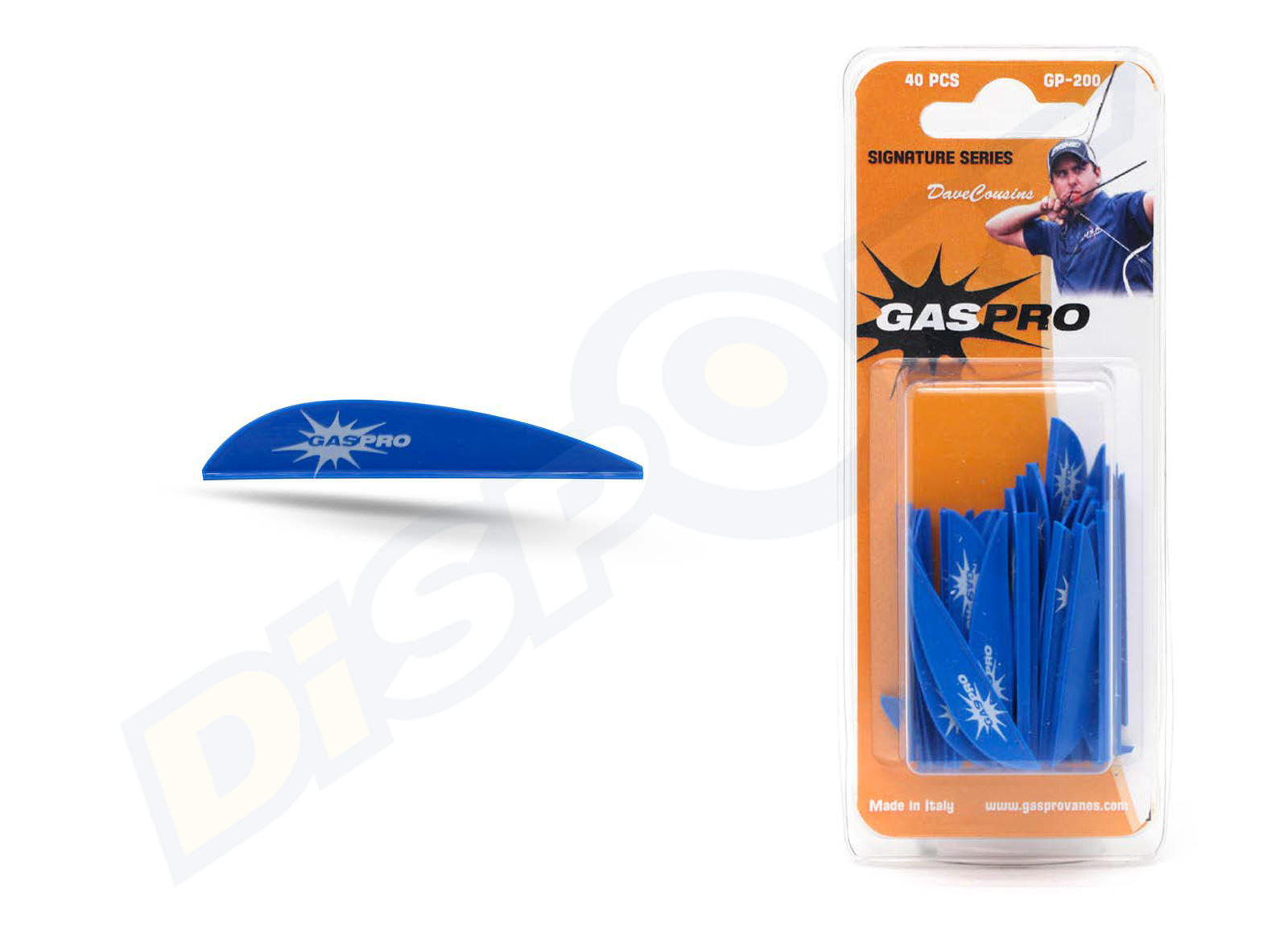 GAS PRO VANES GP-200 DAVE COUSINS SIGNATURE SERIES WITHOUT GLUE